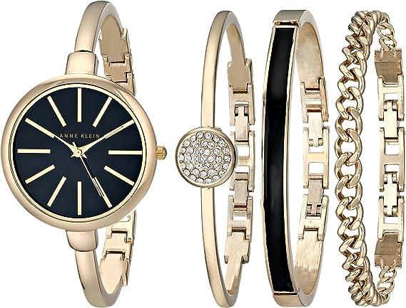 ANNE KLEIN Reloj de Vestir AK/1470GBST: Anne Klein: Amazon.es: Relojes