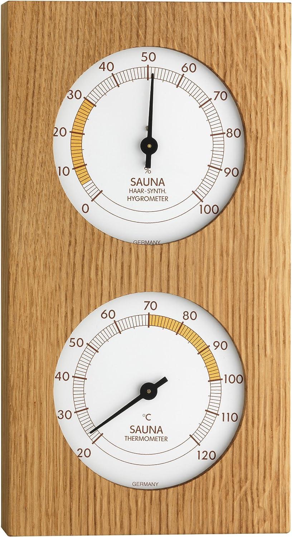 TFA-Dostmann 40.1052.01 Sauna Thermom/ètre hygrom/ètre