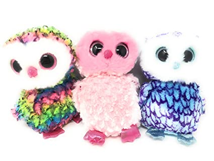 6dd83743507 Buy TY Beanie Boos Colorful Owl Bundle Includes Owen