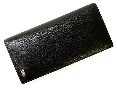 5537a50f7651 Amazon | [バリー]BALLY 長財布 二つ折 エンボスカーフ (ブラック ...