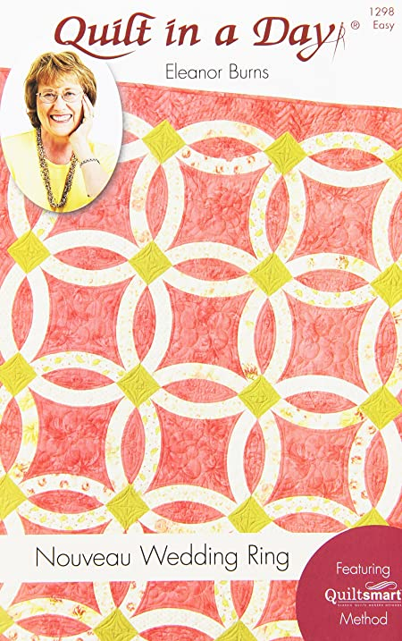 Amazoncom Quilt in a Day Eleanor Burns Pattern Nouveau Wedding