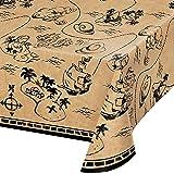 Treasure Island Pirate Plastic Tablecloth, 1 ct