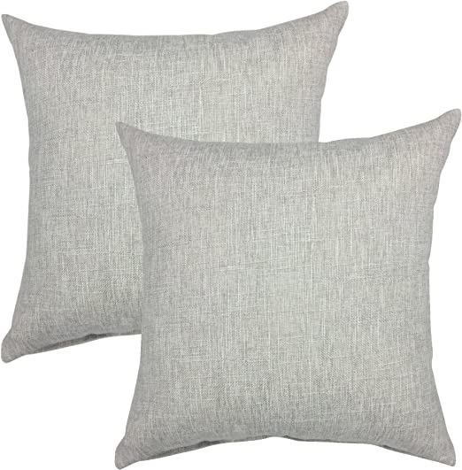 """Large Plain Black Cushion Covers 18/"""" 20/"""" 22/"""" 24/"""" with// without inner 100/% cotton"""