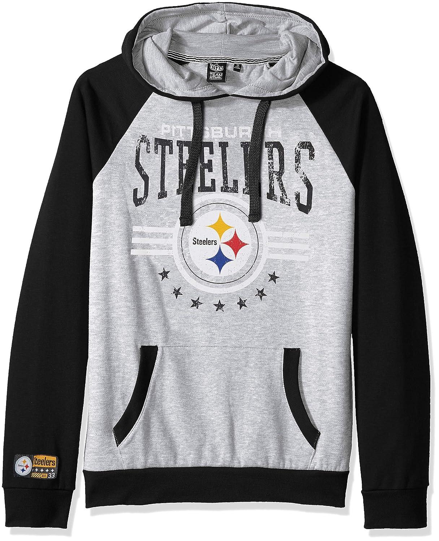 Black NFL Pittsburgh Steelers Ultra Game Mens PULLOVER HOODIE Small