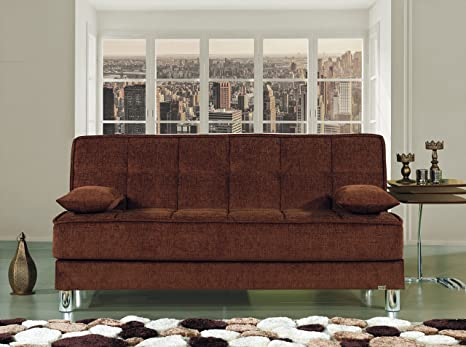 Amazon.com: Smart Fit futon sofá cama: Kitchen & Dining