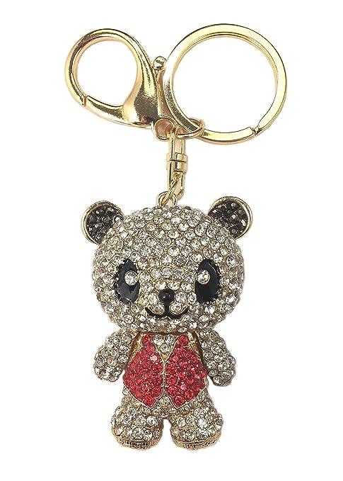 Amazon.com: Amino ✮ Ziggy el panda llavero con muñeca y ...
