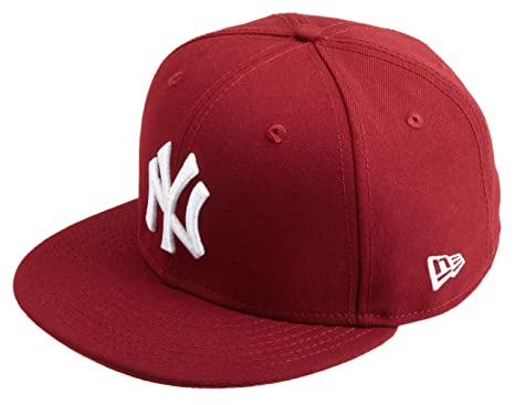New Era MLB York Yankees League Gorra básica, Rojo, 6 3/4, Hombre ...