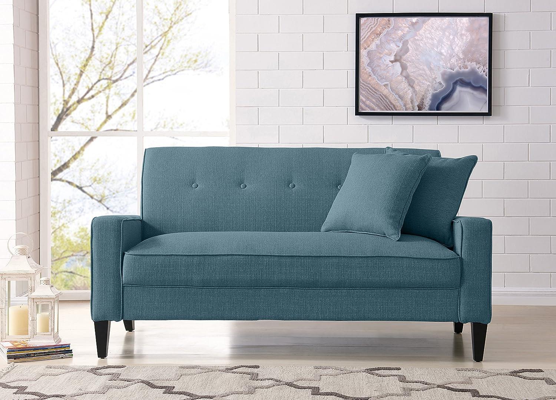 Amazon.com: Handy Living BF4-S1-LIN55 Granada Trista Sofa ...