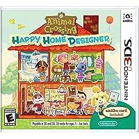 Animal Crossing - Happy Home Designer With Amiibo Card - Nintendo 3DS