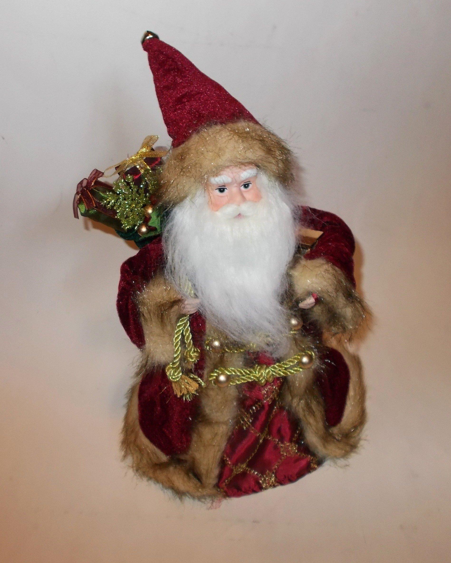 St Nicholas Tree Topper - Santa Tree Topper - Saint Nicholas Topper