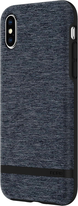 Incipio Esquire Series Case Cover for iPhone X - Blue,IPH-1631-BLU