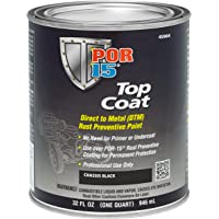 $34 » POR-15 45904 Top Coat Chassis Black Paint, 32. Fluid_Ounces