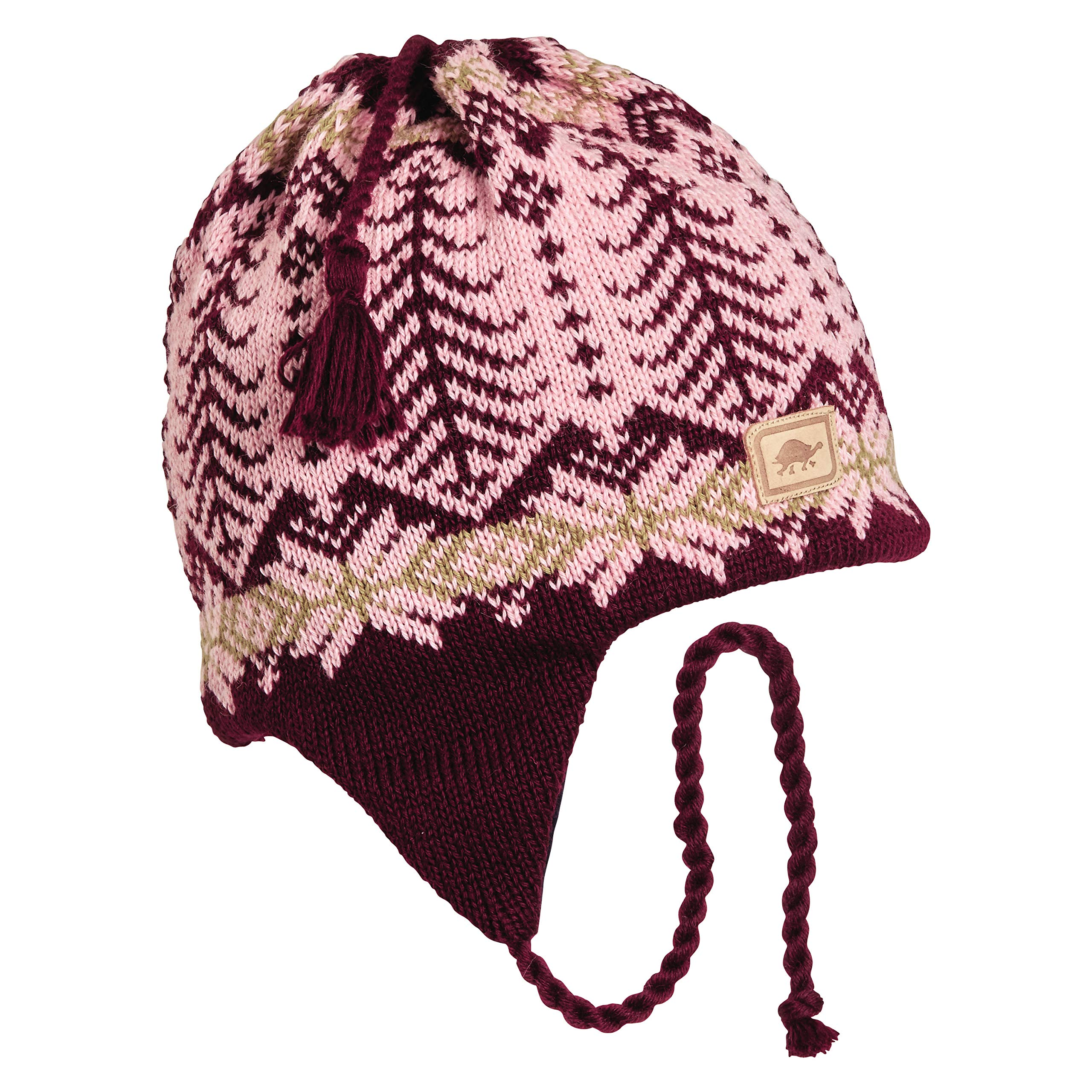 Turtle Fur Twiggly Classic Wool Ski Earflap Hat Light Pink by Turtle Fur (Image #1)