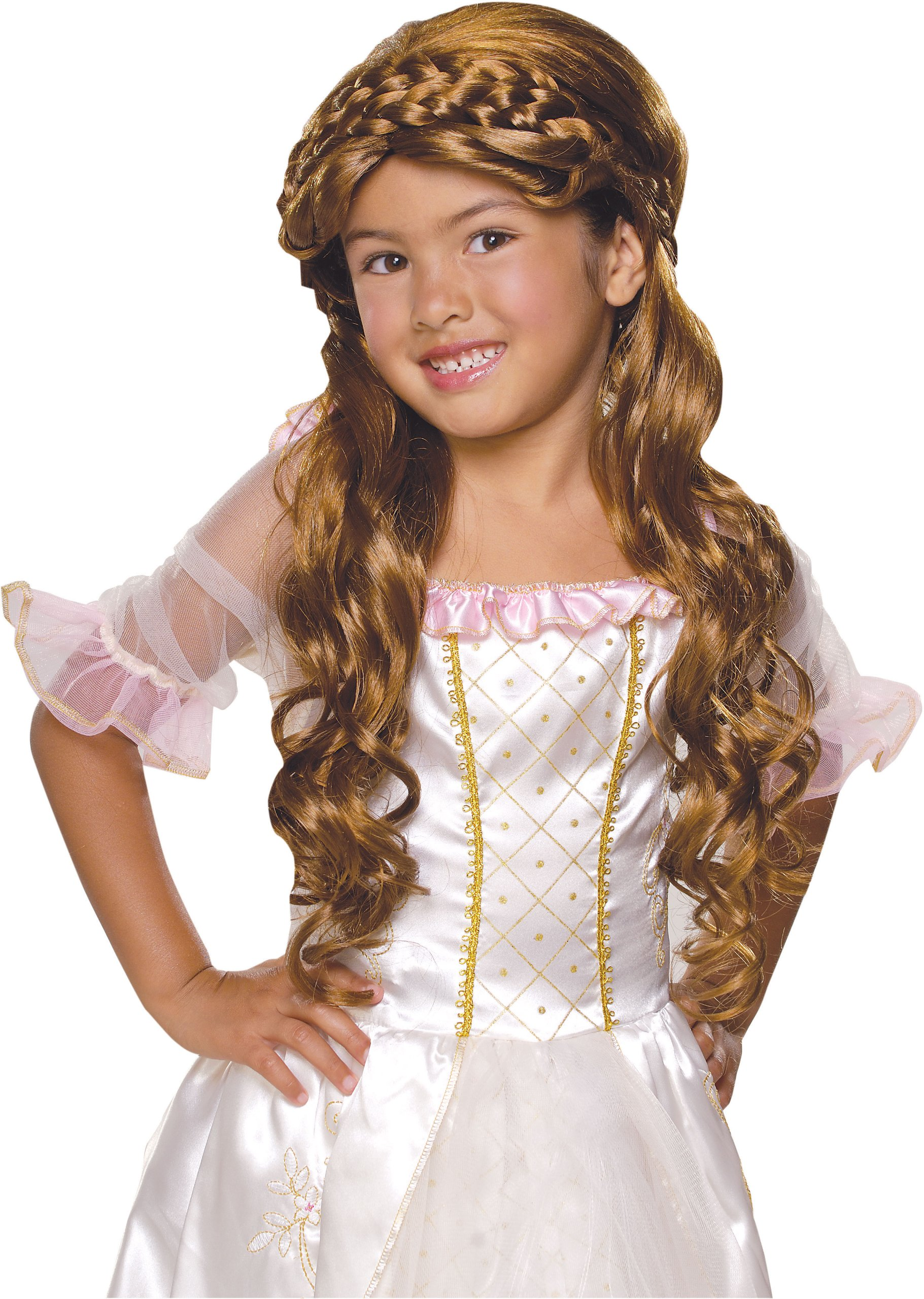 Rubie's Enchanted Princess Child's Costume Wig, Brunette