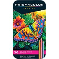 Prismacolor 92885T Premier Pencils Set, Assorted, 36-Count