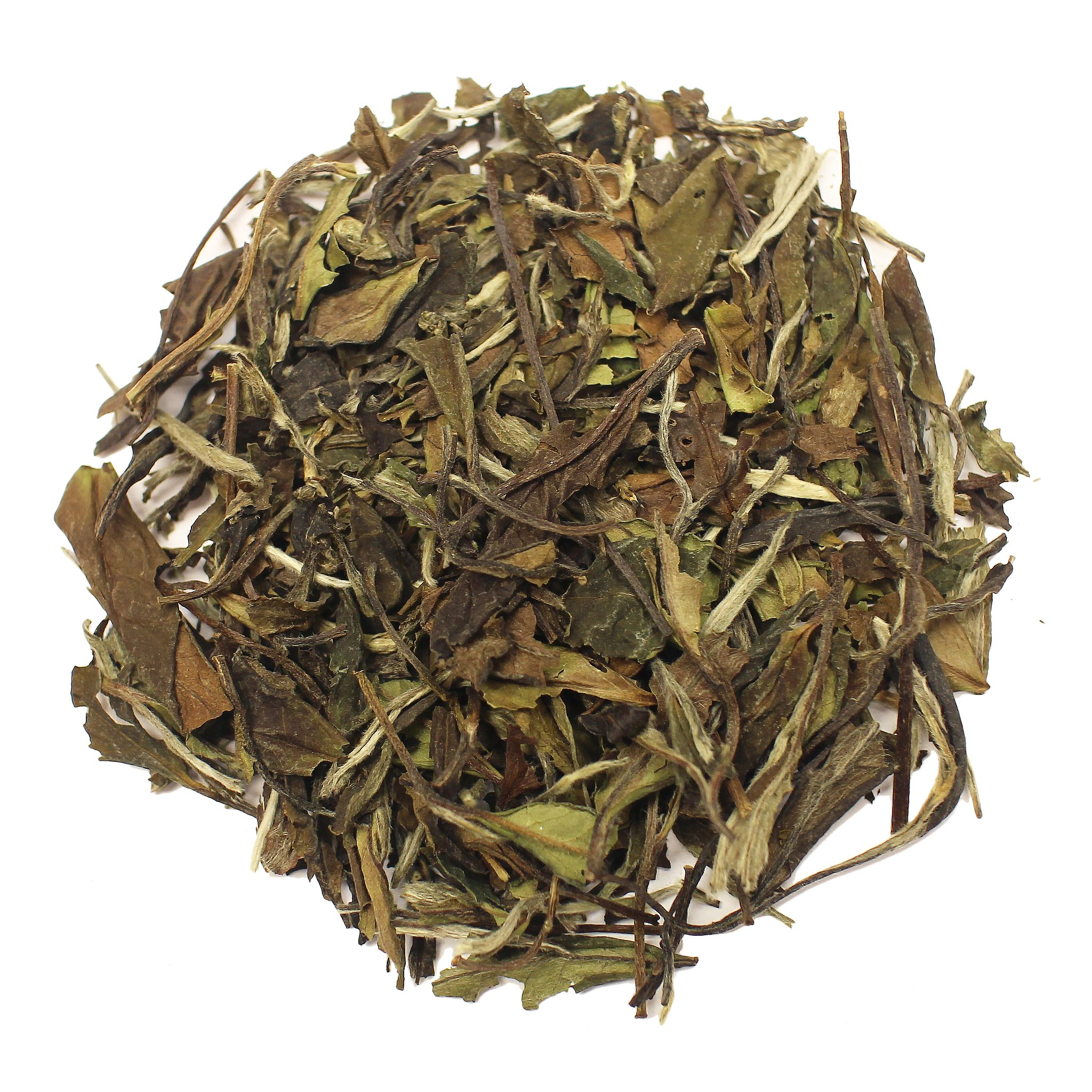 The Tea Farm - White Peony White Tea - Chinese Loose Leaf White Tea (16 Ounce Bag) by The Tea Farm