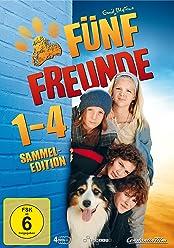 Fünf Freunde 1 - 4 [Limited Edition] [4 DVDs]