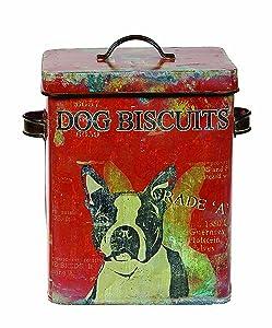 Creative Co-op DE0791 Dog Biscuit Container