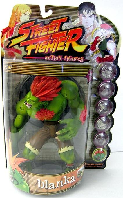 Amazon Com Street Fighter Resaurus Round One Blanka Green Version Toys Games