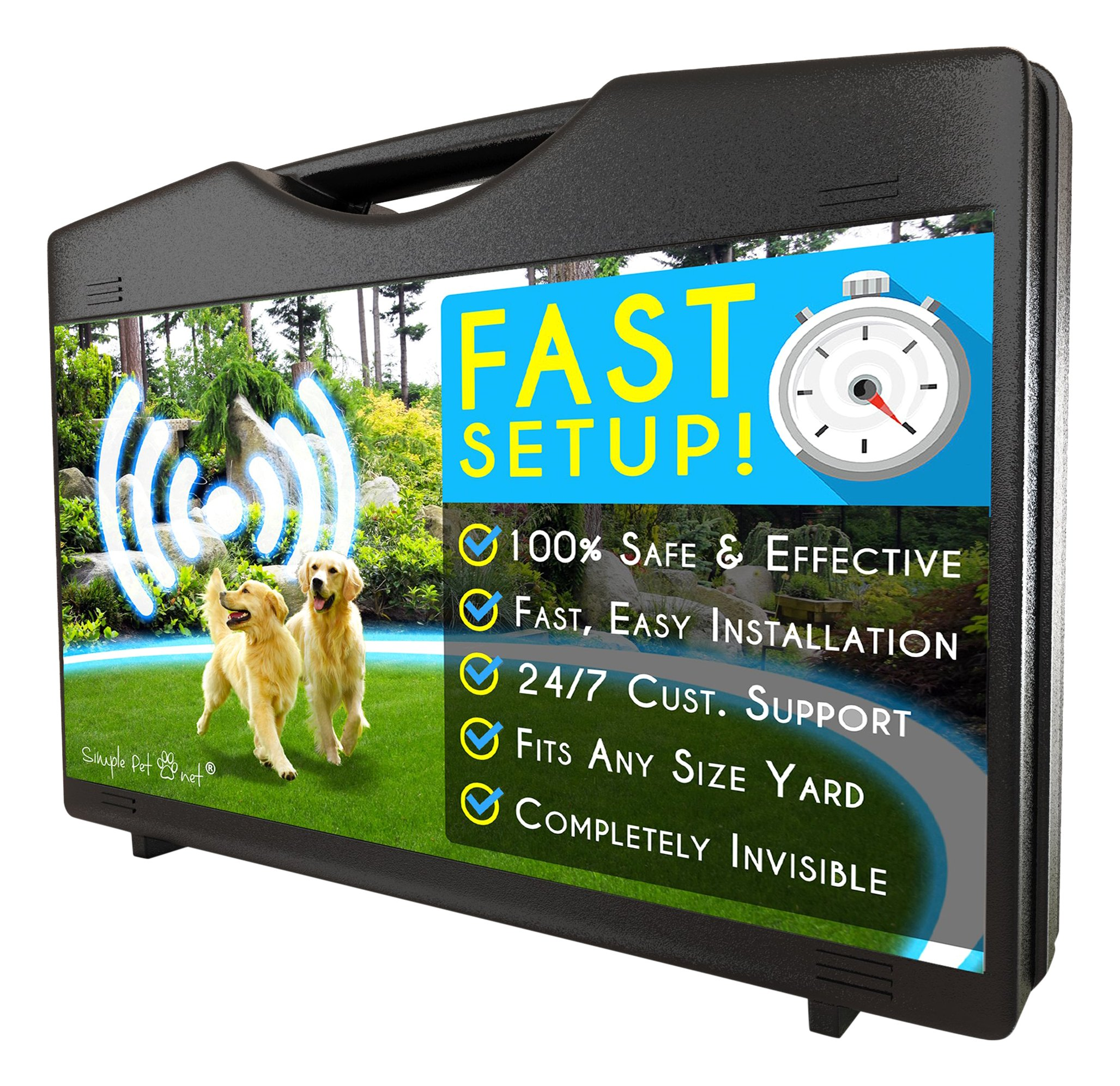Simple Pet Simple Pet Wireless Electric Dog Fence