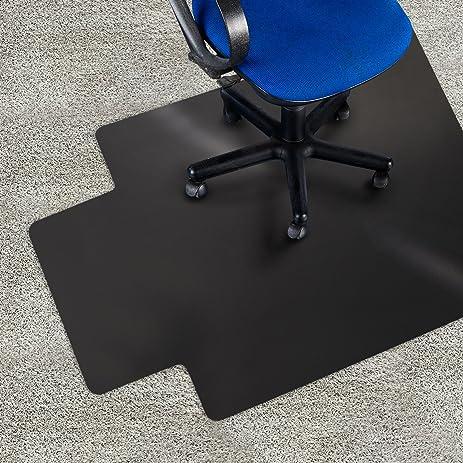 chair mat with lip. Office Marshal Black Chair Mat With Lip - 36\u0026quot; X 48\u0026quot; Carpet C