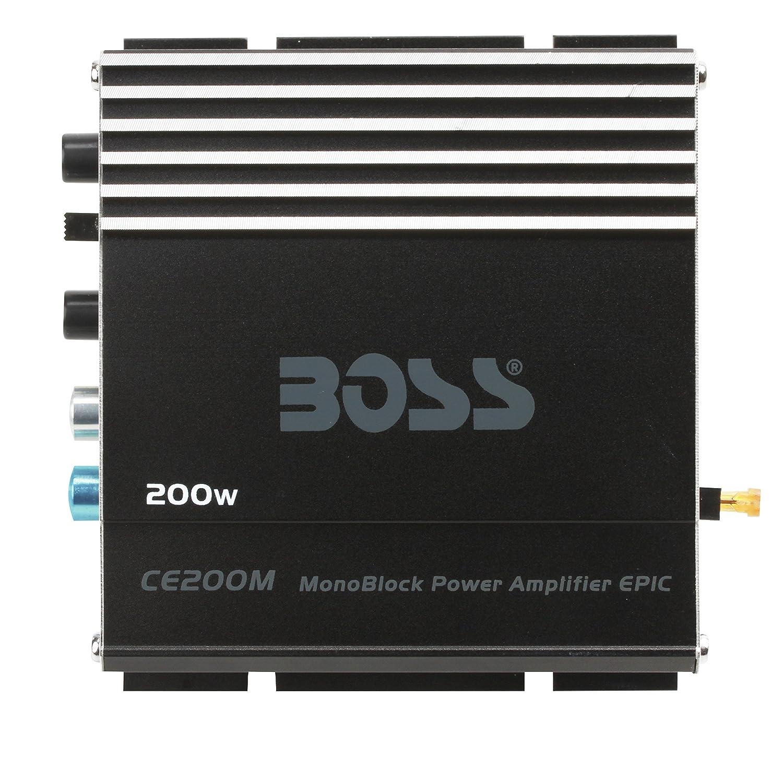 BOSS Audio CE102 100 Watt 2 Channel 4 Ohm Stable Class A//B MOSFET Car Amplifier Boss Audio Systems Inc. Full Range