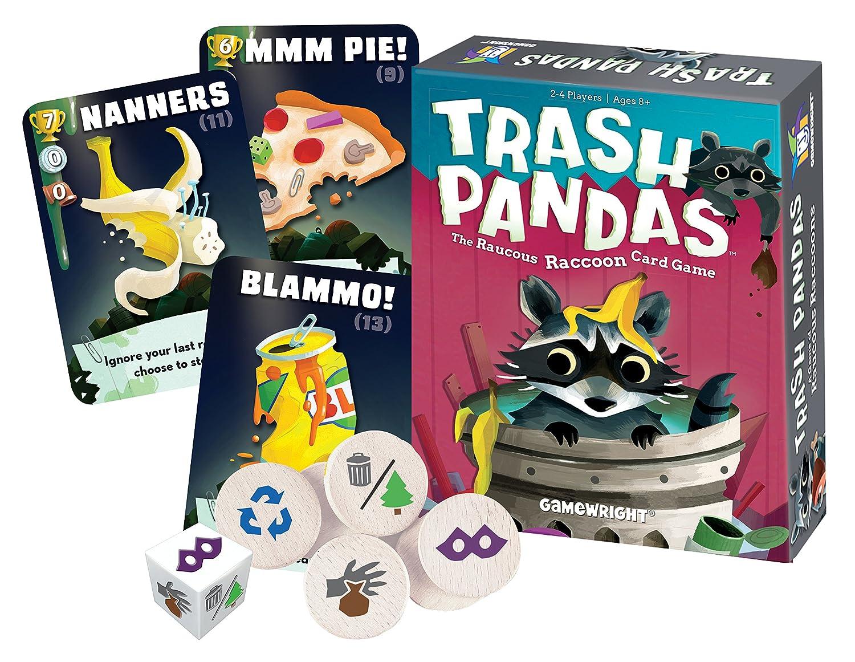 Gamewright Trash Pandas Raucous Raccoon Card Game