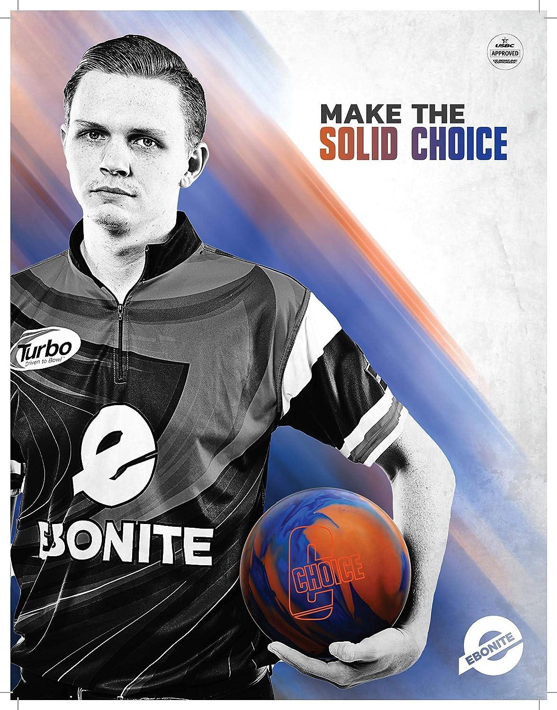 Ebonite Choice Solid Blue//Orange 16lb