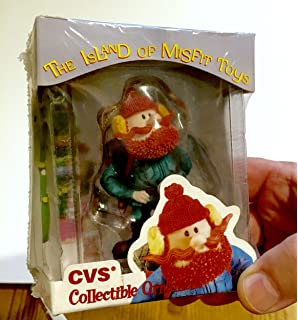 1999 cvs limited edition yukon cornelius christmas ornament from rudolph and the island of misfit toys