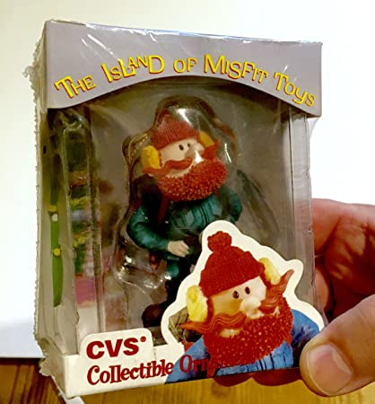 1999 cvs limited edition yukon cornelius christmas ornament from rudolph and the island of misfit toys - Cvs Outdoor Christmas Decorations