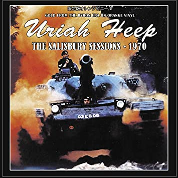 Uriah Heep Uriah Heep The Salisbury Sessions 1970 Limited Edition On Orange Vinyl Amazon Com Music