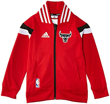 Adidas Winter Hoops Anthem - Chaqueta de running para niño, color rojo, 140 cm: Amazon.es: Deportes y aire libre