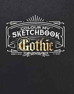 Colour My Sketchbook Gothic