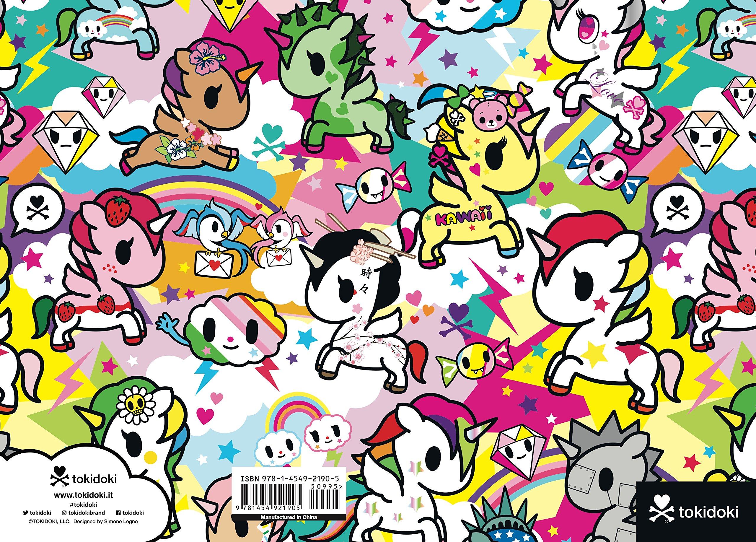 Amazon.com: tokidoki Unicorno Flexi Journal (9781454921905 ...