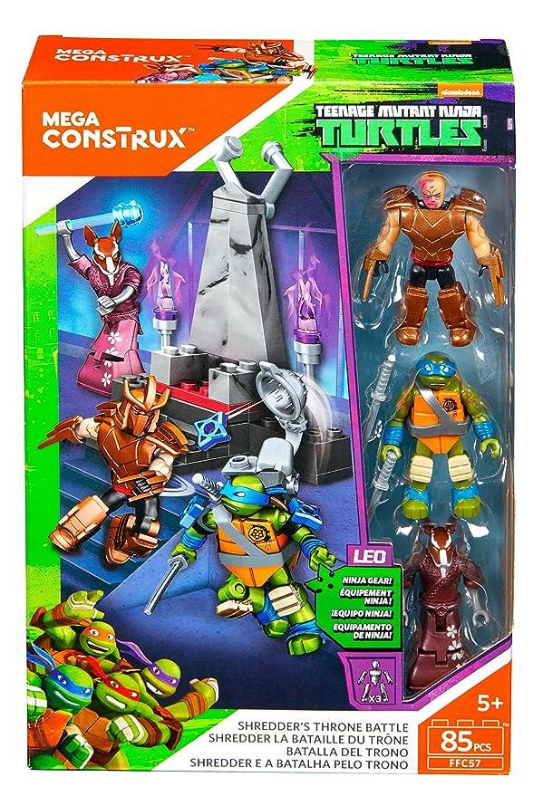 Amazon.com: Mega construx Teenage Mutant Ninja Turtles ...