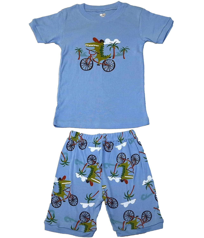 Pandaprince crocodile Boys shirt toddler clothes kids short pajamas cotton sleepwear pjs