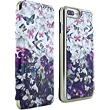 bb080ffcac45b6 Official TED BAKER® Fashion Branded Mirror Folio Case for iPhone 7 Plus -  BECCY…