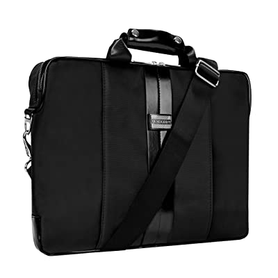"hot sale 2017 VanGoddy Executive Soft Sided Briefcase Messenger Bag for Microsoft Surface Book 2 13.5"" and 15.6"" / Surface Book 1 13.5"" / Surface Laptop 13.5inch / Surface Pro 12.3"""