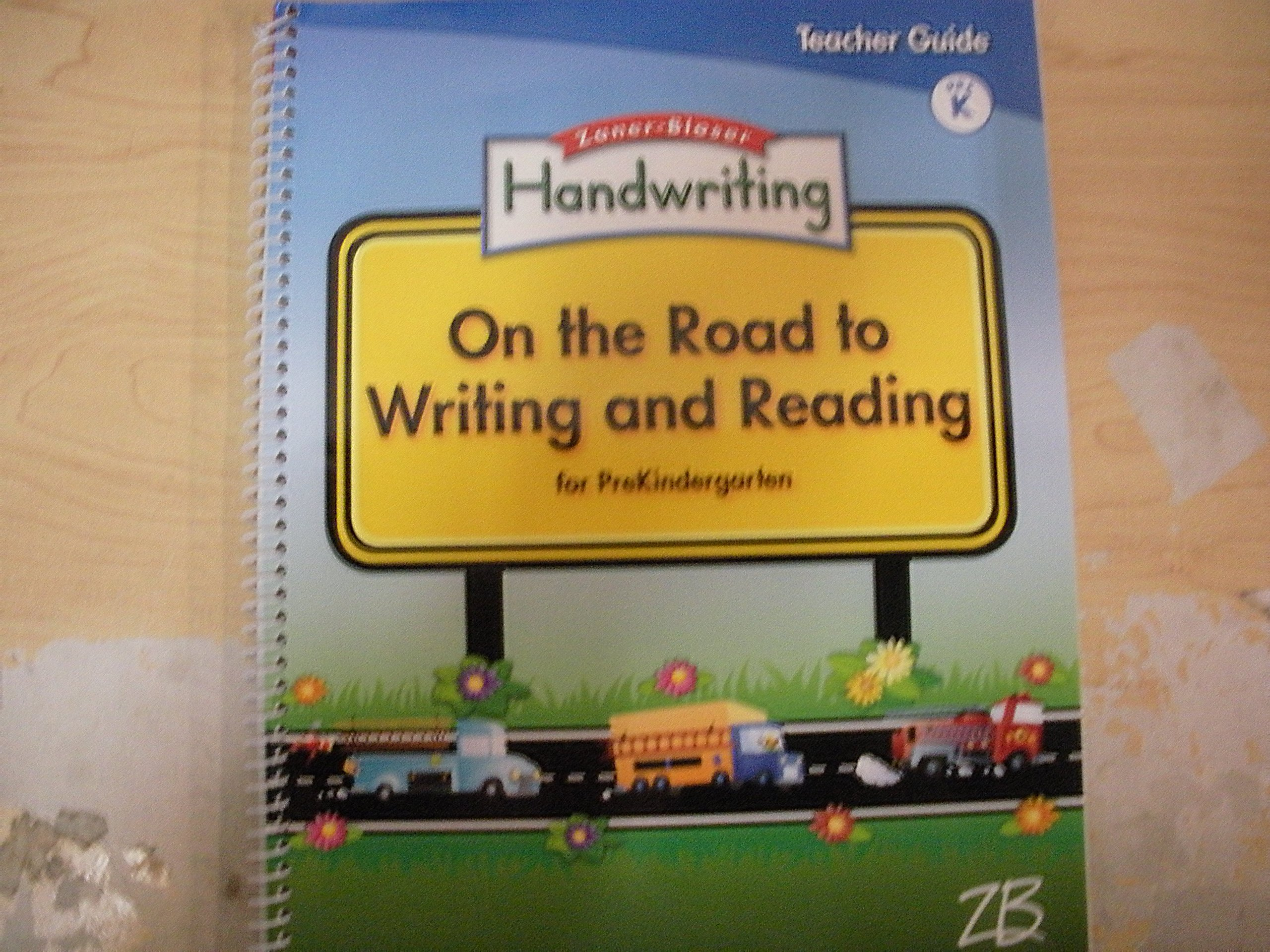 Download Handwriting, On the Road to Writing and Reading for PreKindergarten PDF