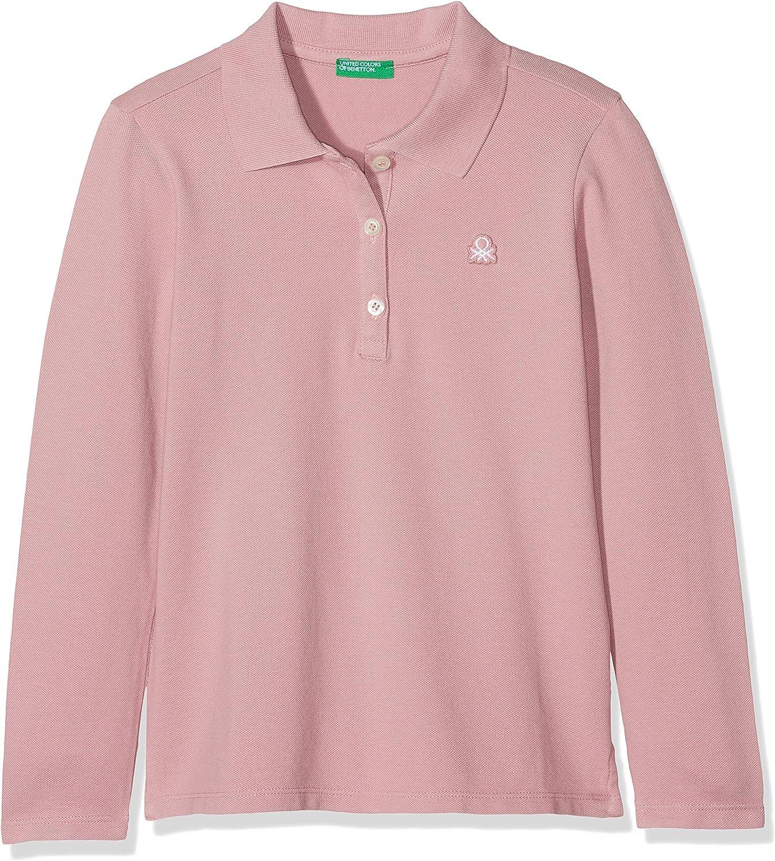 United Colors of Benetton L/s Polo Shirt, Morado (Mauve 25u), 98 ...