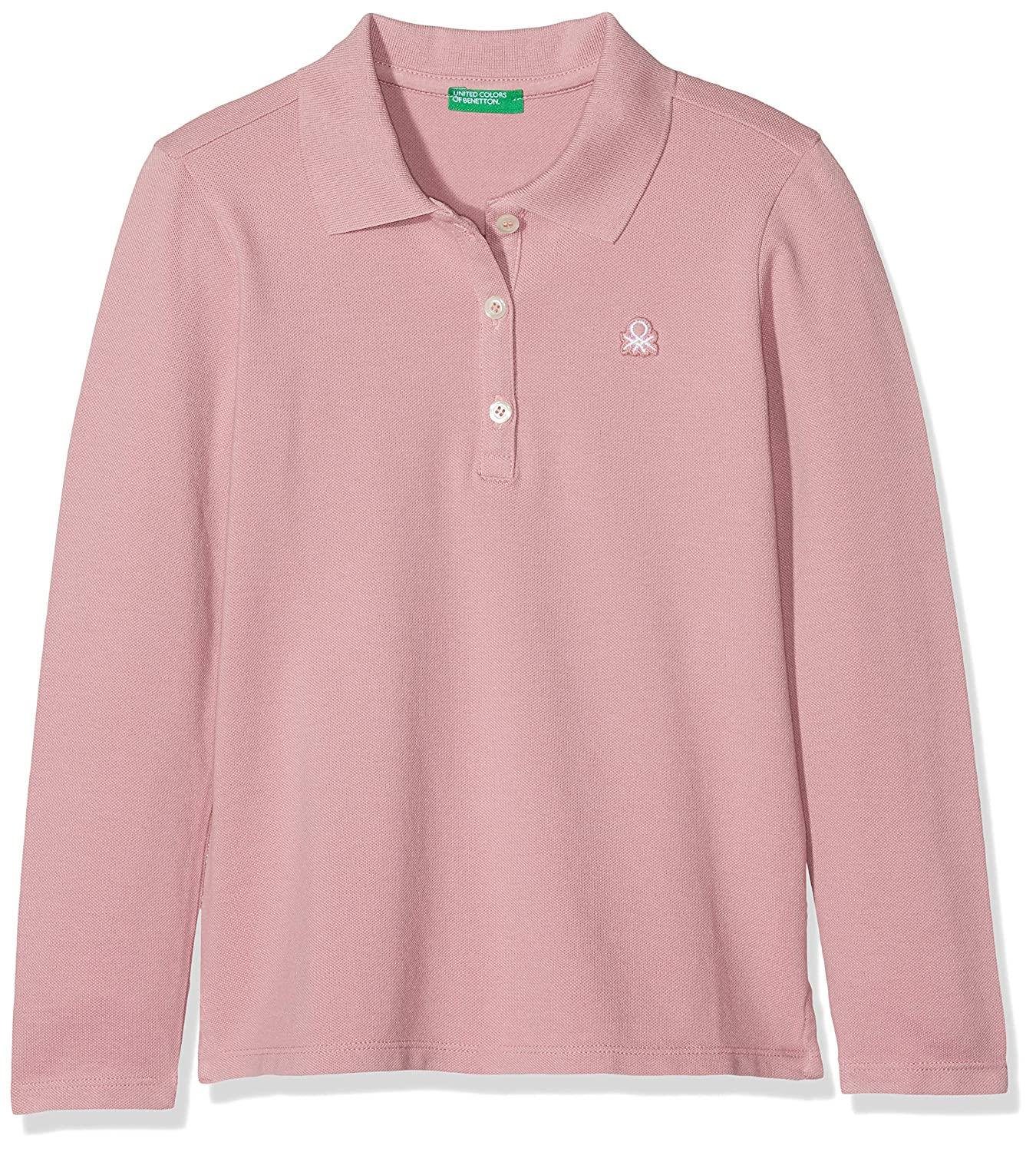United Colors of Benetton L/S Polo Shirt, Bambina 3WG9C3098