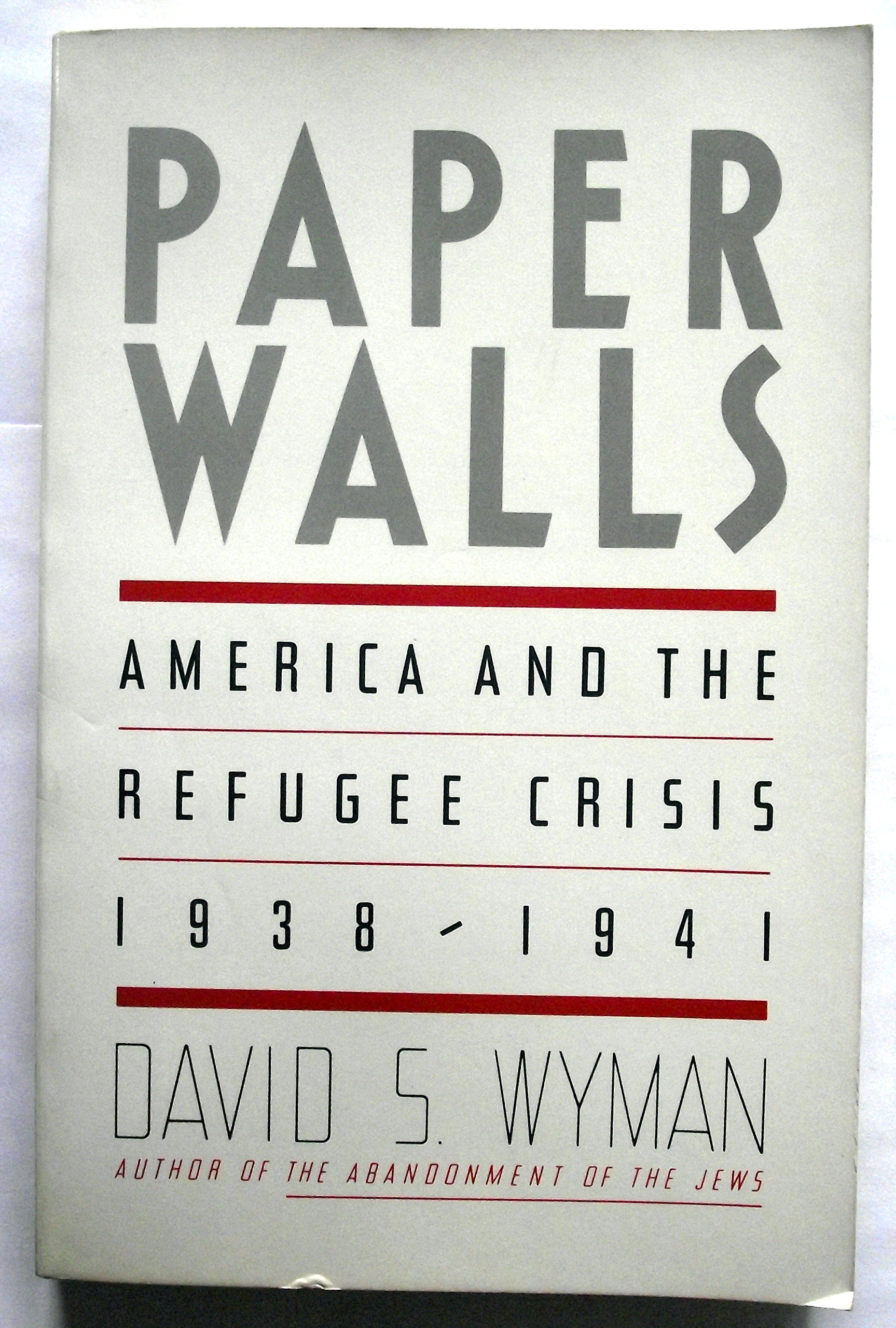 Image result for David S. Wyman paper walls
