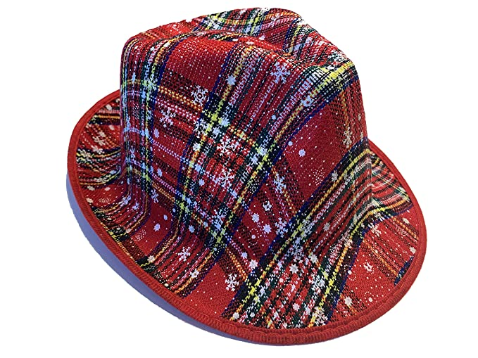 eae9467a3b172 Image Unavailable. Image not available for. Color  DSV Super Center Best  Ugly Christmas Sweater Fedora Hat ...