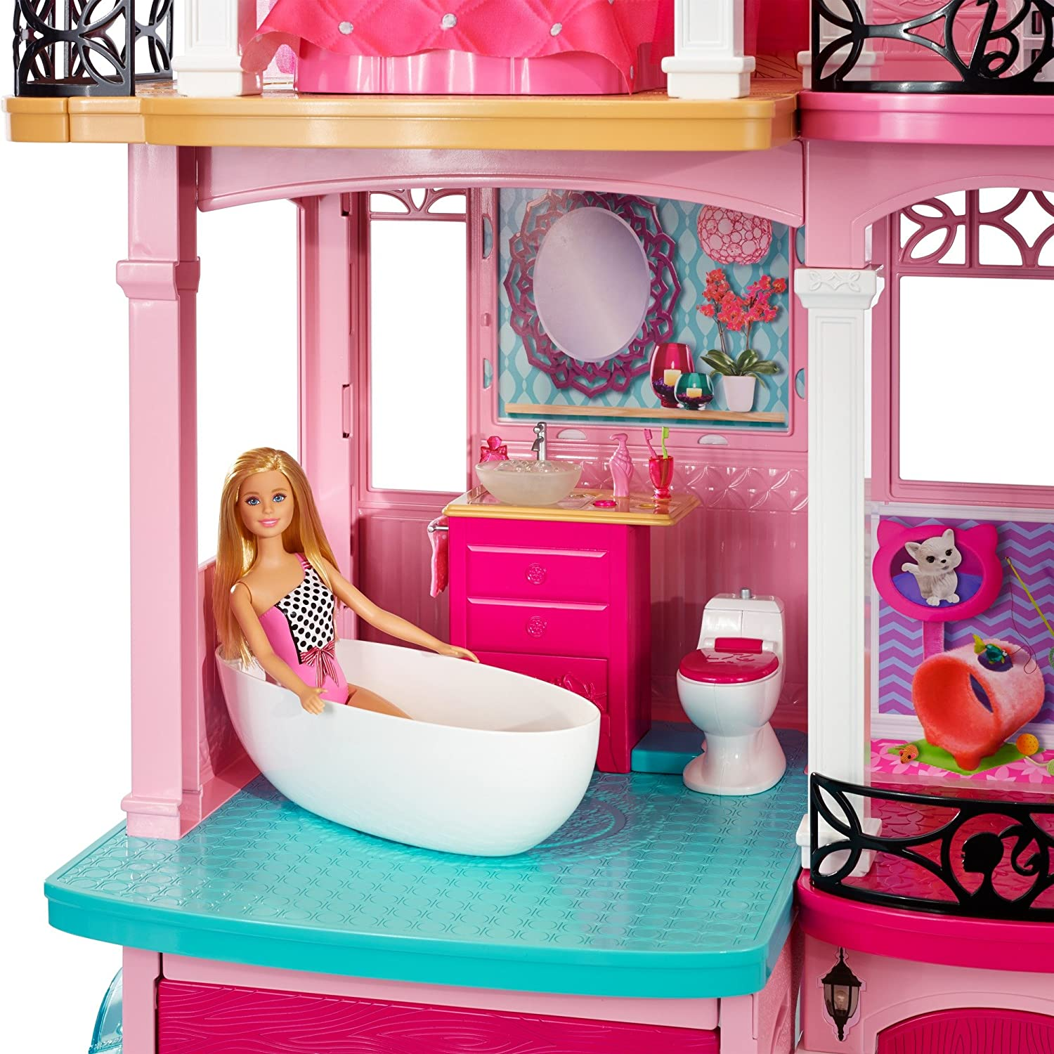 . Amazon com  Barbie Dreamhouse  Toys   Games