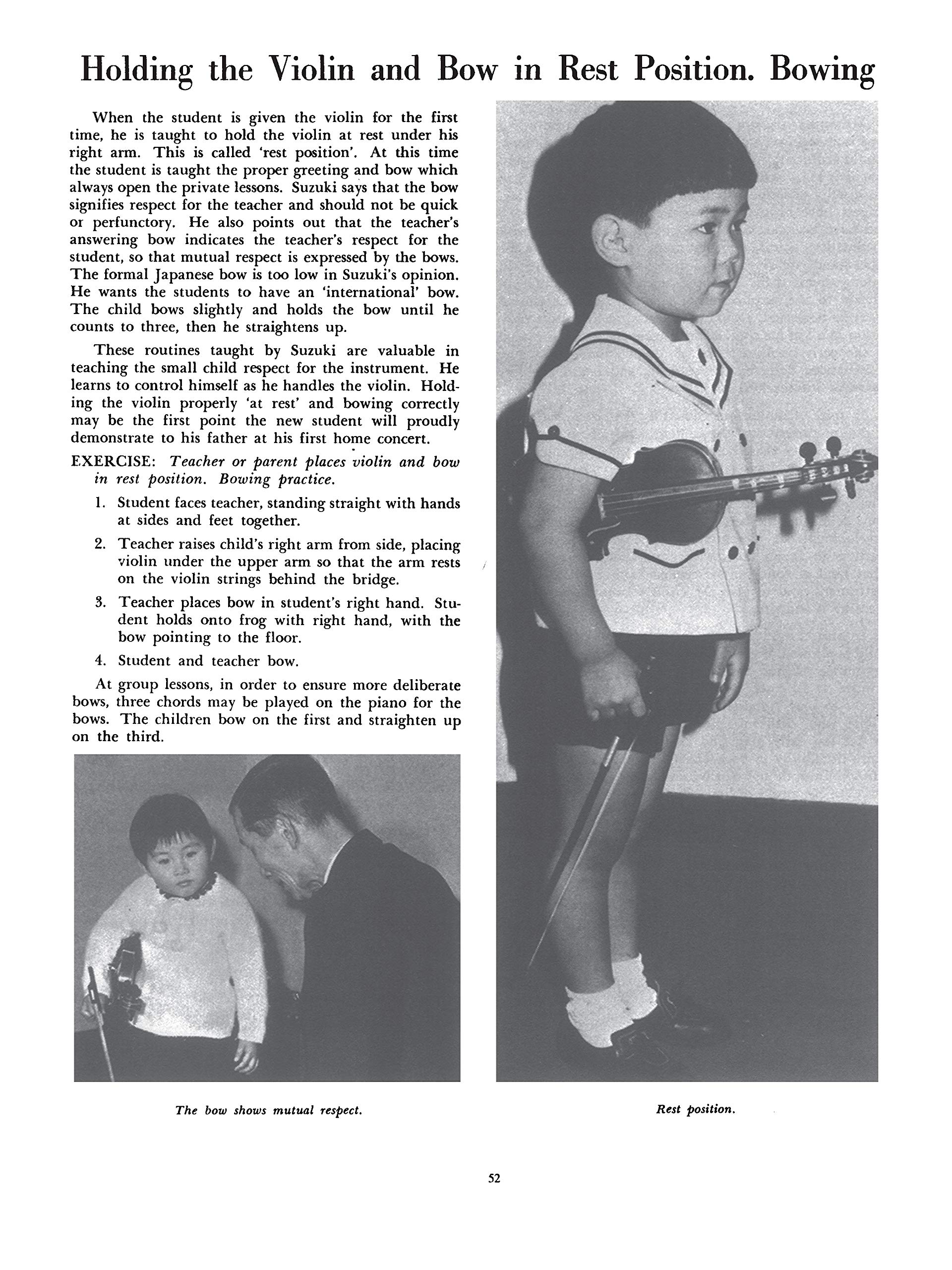 Suzuki Violinist: A Guide for Teachers and Parents Suzuki Method ...