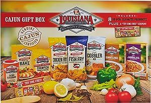 Louisiana Fish Fry Products - Cajun Box Set of 8 Items