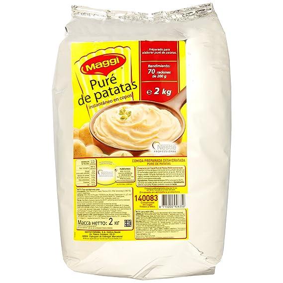 Maggi Puré de patatas en copos - pure cremoso y suave - Paquete de 2 kg