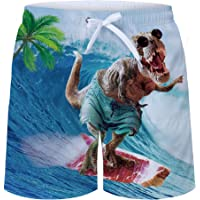 uideazone Men's Swim Trunks Quick Dry Waterproof Bathing Suits Beach Short with Mesh Lining