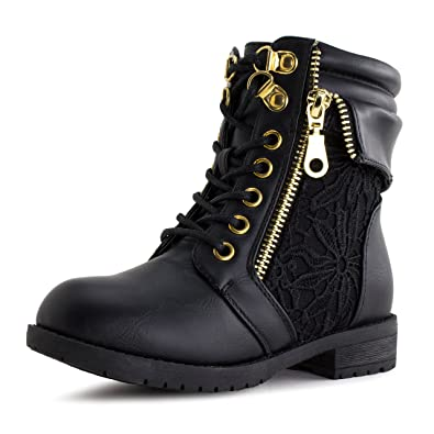 6321daccd60 Girls Lace Up Ankle Boots