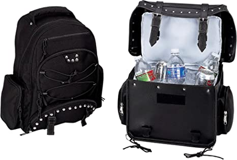 Heavy-Duty PVC Motorcycle Cooler Bag and Backpack